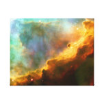 Omega-/Schwan-Nebelfleck (Hubble Teleskop) Gespannter Galerie Druck