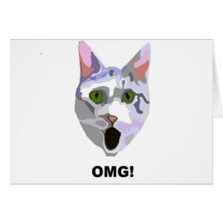OMG! CAT 'was hat er gesehen? ' Karte