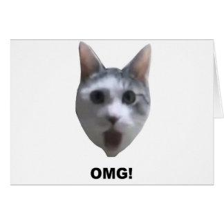 OMG CAT! (was ihn gesehen? hat) Karte