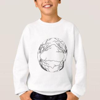 OMG! Es ist Bäume in einem fantastischen Kreis… Sweatshirt