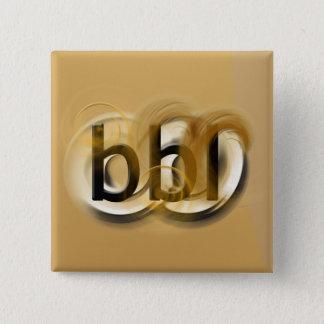 OMG! Fass Quadratischer Button 5,1 Cm