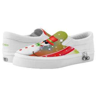 OMG! Flippiger Schneemann Christmas2 Slip-On Sneaker