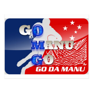 OMG - Gehen Manu gehen Postkarte