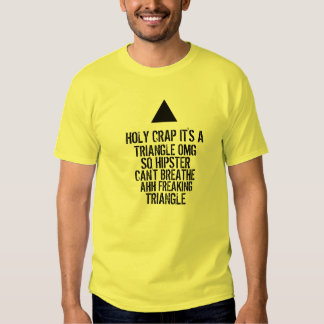 OMG Hipster-Dreieck Hemden