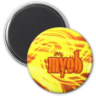 OMG! myob Runder Magnet 5,7 Cm