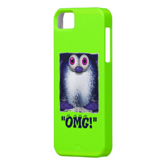 OMG niedlicher flockiger Cartoon Wuzzy Hintern Barely There iPhone 5 Hülle