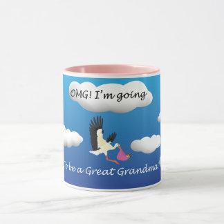 OMG werde ich eine große Großmutter Tasse sein
