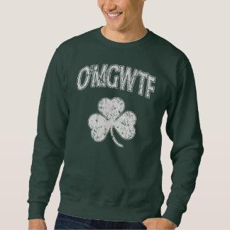 O'MGWTF Kleeblatt-St Patrick Tag Sweatshirt