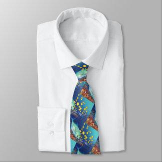 Omilu (Bluefin Trevally) Bedruckte Krawatten