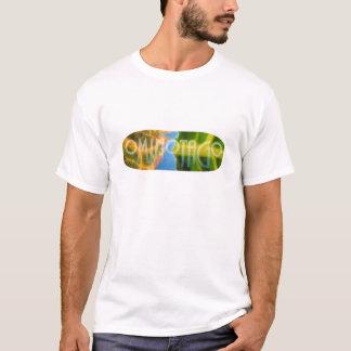 OminOtagO Öko-Logo-T-Stück T-Shirt