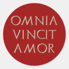 Omnia Vincit Amor Aufkleber