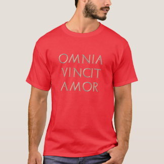 Omnia Vincit Amor T - Shirt