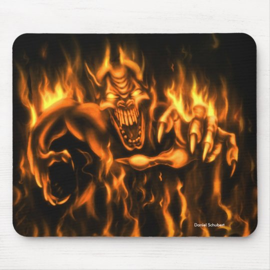 On Fire: Mauspad