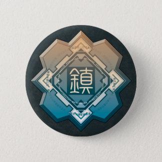 ONE of QUADRUPLET Runder Button 5,1 Cm