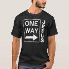 One Way Blanc TRANS PNG T-Shirt