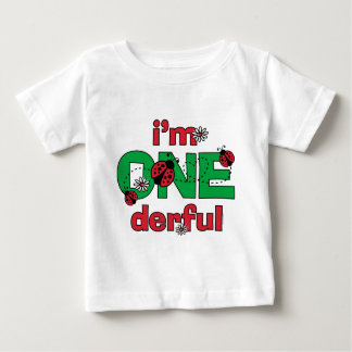 ONEderful Marienkäfer-1. Geburtstag Baby T-shirt
