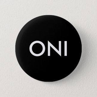 Oni Runder Button 5,7 Cm