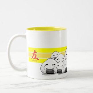 Onichibi - Freund Zweifarbige Tasse