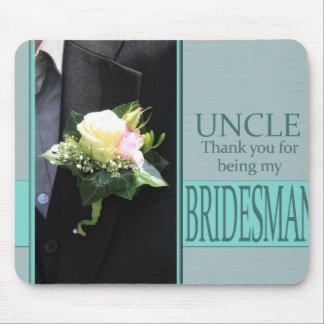 Onkel Bridesman danken Ihnen Mousepad