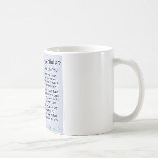 Onkel Poem - 21. Geburtstag Kaffeetasse