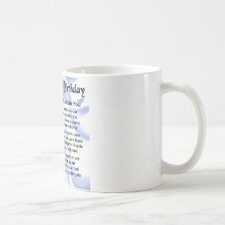 Onkel Poem - 70. Geburtstag Kaffeetasse