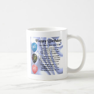 Onkel Poem - alles Gute zum Geburtstag Kaffeetasse