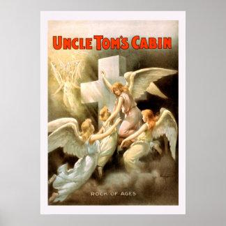 Onkel Toms Cabin Vintage Poster