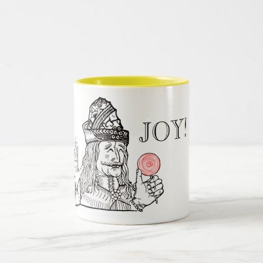 Onkel Vlad hat einen Lutscher Teetassen