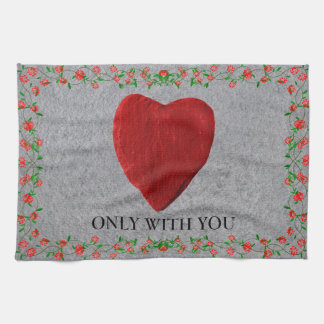 Only with you geschirrtuch