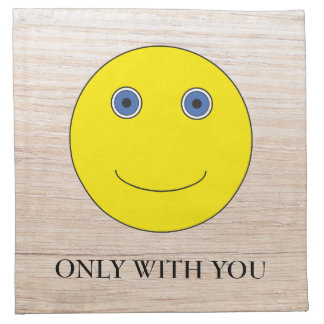 Only with you serviette