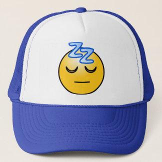 Onomatopoeia zzZZ schläfrig, Entspannungsdenken Truckerkappe