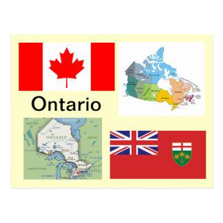 Ontario Kanada Postkarte