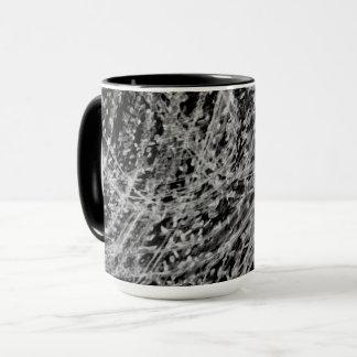Onyx-u. Jet-kombinierte Tasse durch Künstler C.L.