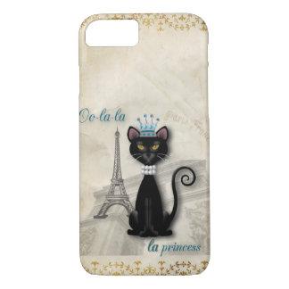 Oo-La-La französische Miezekatze-Prinzessin iPhone 8/7 Hülle