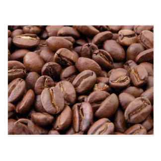 Oodles der Kaffeebohnen Postkarten
