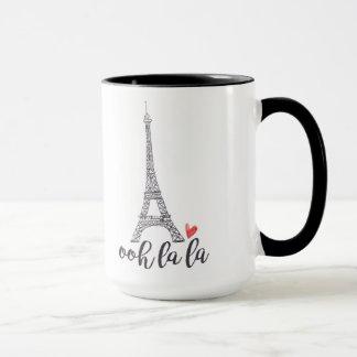 Ooh Lala Paris-Tasse Tasse