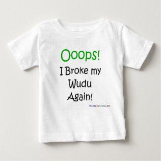 Oops brach ich mein wudu wieder! baby t-shirt
