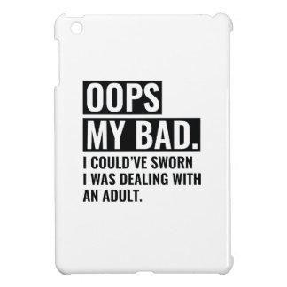 OOPS mein Schlechtes iPad Mini Hülle