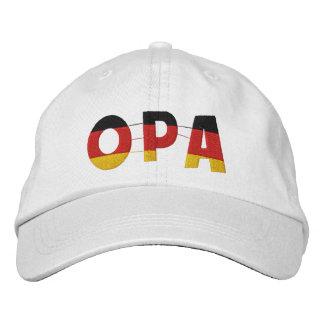 OPA deutscher Großvater gestickte Kappe