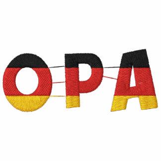 OPA deutscher Großvater gesticktes Polo-Shirt Besticktes Polo Hemd