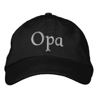 Opa stickte Kappe Bestickte Baseballmützen