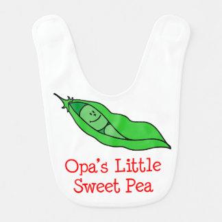 Opas wenig süße Erbsen-Schellfisch Babylätzchen
