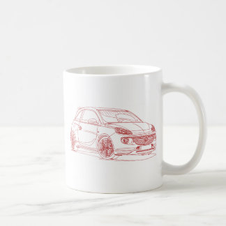Opel Adams 2015 Kaffeetasse