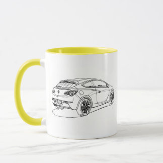 Opel Astra GTC 2012 Tasse