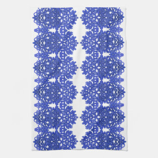Openwork Muster im Art BlauChinoiserie Küchentuch