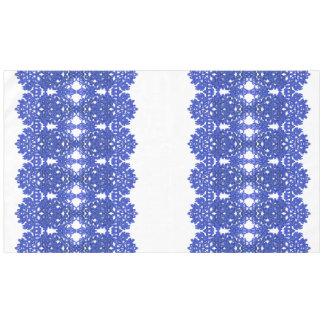 Openwork Muster im Art BlauChinoiserie Tischdecke