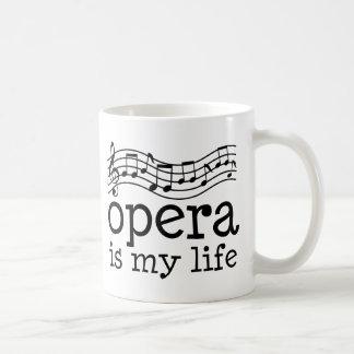 Oper ist mein Leben Kaffeetasse