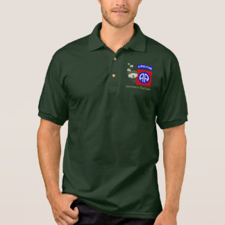 Operation Neptun WWII [82. Abn] Polo Shirt