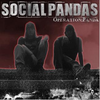 Operations-Panda Acryl Ausschnitte