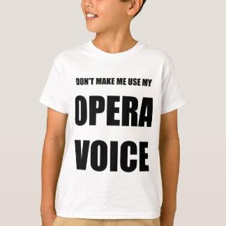 Opern-Stimme T-Shirt
